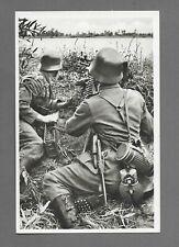 Postkarte Unsere Wehrmacht  Schweres MG. in Feuerstellung
