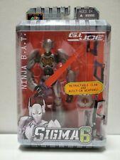 GI Joe Sigma 6 Codename: Ninja B.A.T. Action Figure *NEW*