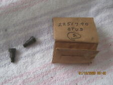 2 NOS 1960S PLYMOUTH, DODGE CHRYSLER METAL STUDS-PART NUMBER 2251790