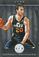 2013-14 Totally Certified Basketball #72 Gordon Hayward Utah Jazz
