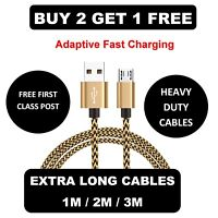 2A Short Micro USB High Speed Fast Charger Cable for Huawei Android Power Bank