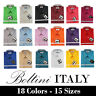 Boltini Italy French Convertible Cuff Solid Mens Dress Shirt All Colors & Sizes