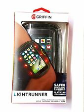 Griffin Lightrunner Armband With Flashing LEDs Fits Iphone 8 / 7 / 6 /
