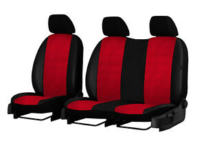 CITROEN DISPATCH Mk3 2017 2018 2019 2020 ARTIFICIAL LEATHER TAILORED SEAT COVERS