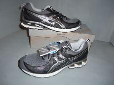 NEW MENS ASICS GEL-FIERCE RUNNING/TRAINING SHOES - Size 11/ EUR 45 Black  T428/N