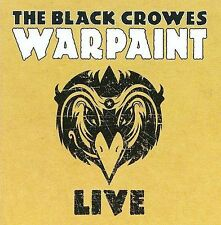 THE BLACK CROWES - Warpaint Live 2 CD SET BRAND NEW SEALED - MADE IN GERMANY!!!
