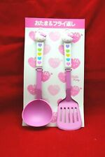 Sanrio Hello Kitty Collection Pink Kitchen Ladle and Frying Utensils From Japan