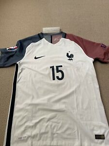 Nike France Paul Pogba Authentic Match Issue Vapor Shirt L Euro 2016 FFF player