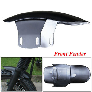 1PC Motorcycle Cafe Racer Front Fender Splash Mud Dust Guard Mudguard Rust Proof