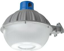 High Output Dusk Dawn Grey Outdoor Integrated Led Area Light Aluminum Metal