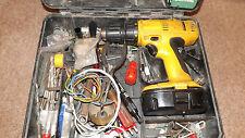 DeWalt HEAVY DUTY DRILL DC988KB 18V Cordless Combi Drill,BATTERY CASE DRILL BITS