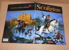 BD Desberg Marini Scorpion n°2 Secret du Pape EO 2001 Dargaud TBE