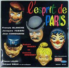 L'esprit de Paris Francis Blanche Jacques Fabbri Jean Constantin Robert Dhery