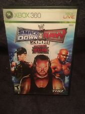 WWE SmackDown vs. Raw 2009 Featuring ECW Xbox 360, 2008 Case & Disc No Manual