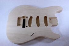 Unfinished SSS Basswood Strat Stratocaster body OFR Fits Fender neck P111