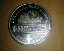 Vintage Boomtown Truck Stop Hotel And Casino $1 Gaming Token