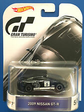 2016 Hot Wheels Retro Entertainment GRAN TURISMO 2009 NISSAN GT-R (R35) mint