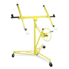 Drywall Panel Lift Dry Wall Panel Hoist Lockable Lifter Yellow