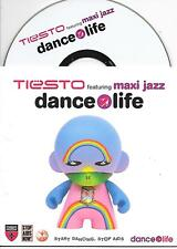 TIESTO ft MAXI JAZZ - Dance4Life CD SINGLE 2TR Trance Dutch Cardsleeve 2006