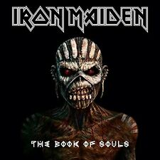 2015 Iron Maiden The Book of Souls 2xcd