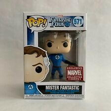 Funko Pop! Mister Fantastic Collector Corps Exclusive Marvel Fantastic Four 571
