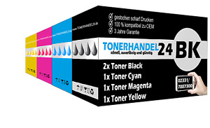 1x Rainbow-Set kompatibel Toner + 1x schwarz extra für SAMSUNG CLP415N CLX4195FW