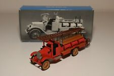 RR 1:43 CONRAD VOLVO 1928 FIRE TRUCK RED MINT BOXED