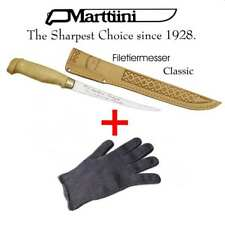 > Marttiini Filetiermesser Classic 15cm + Filetierhandschuh