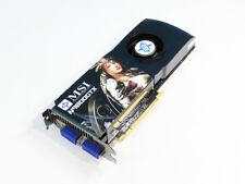 MSI GeForce 9800 GTX 512 MB dual link DVI x 2 / TV-out PCI Express 2.0 x 16 N980