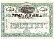 Kanawha & West Virginia Railroad Company  1914