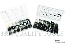 300pc External Snap Ring Circlip Retaining Ring & 300pc E-Clip Assortment Kits