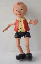 Vintage Collectible Celluloid Doll Character Pinocchio Preserved Decorative Art