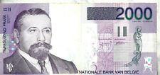 België / Belgique : 2000 frank - Victor Horta.