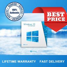 Genuine WINDOWS 10 ENTERPRISE x64BIT OEM Original clave de licencia-chatarra de PC