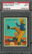 1935 National Chicle #24 Clarke Hinkle RC PSA 7 Green Bay Packers HOF -