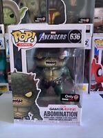 Funko POP Marvel Avengers Gamerverse Abomination #636 GameStop Exclusive
