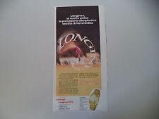 advertising Pubblicità 1972 OROLOGIO LONGINES ORO