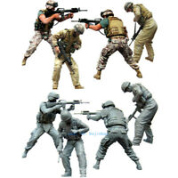 1/35 Scale Modern US Soldier Team Resin Model Figure Kits Unpainted Unassembled