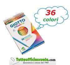 Giotto Stilnovo Pastelli Colorati in Astuccio 36 colori (c9k)