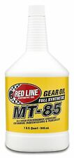 Red Line MT-85 Fully Synthetic 75W90 GL-4 Manual Gear Oil 946ml, Mitsubishi