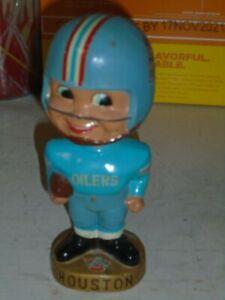 Vintage Football Houston Oilers Bobble Head Figure (VF+)1950's