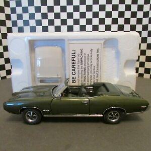 Danbury Mint, 1969 Pontiac GTO, Convert, 1/24 sc. L.E. diecast model, pre-owned