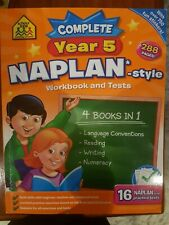 Complete Year 5 Naplan Style Workbook and Tests - School Zone