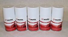 Lot Of 5 Orchard Spice Metered Aerosol, 7 Oz Ref Cans Air Freshener