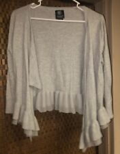 Women's Gray Sweater Shrug From American Eagle, Size M/M