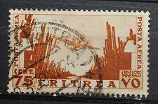 1936   Eritrea  Soggetti Africani   centesimi  75  bruno giallo   sass 20