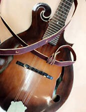 Custom Leather Mandolin Strap for and A Style or F Style Instrument Strap