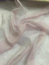 "Net Mesh Fabric - Soft - Pink - 45"" / 115cm Wide - Per Meter"