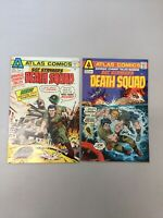 Savage Combat Tales Sgt. Strykers Death Squad 1 & 2 Atlas Comics 1975 Bronze Age