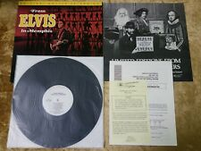 "ELVIS PRESLEY From Elvis In Memphis 12"" Original Master Recording RCA MFSL 1-059"